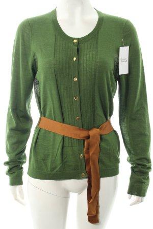 Burberry Cardigan grün klassischer Stil
