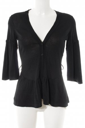 Burberry Cardigan schwarz Casual-Look