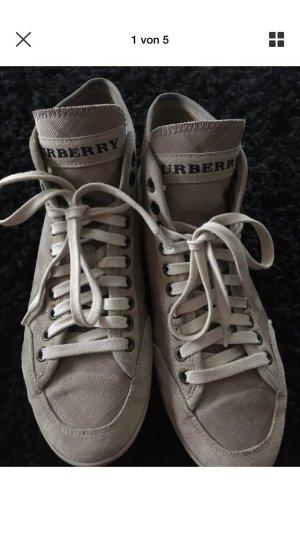 Burberry Zapatillas altas crema