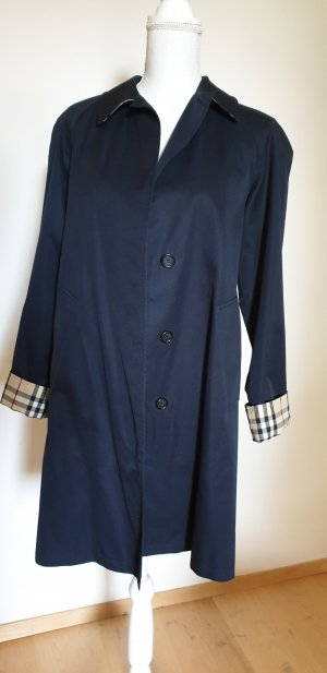 Burberry Robe manteau bleu-bleu foncé