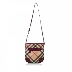 Burberry Coated Canvas Dryden Crossbody Bag