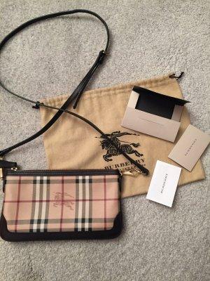 Burberry Crossbody Bag bzw. Clutch aus Canvas mit Original Staubbeutel