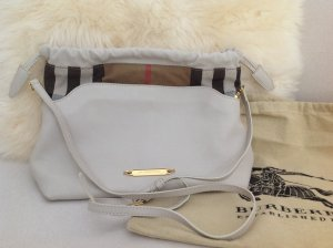 Burberry Shoulder Bag natural white leather