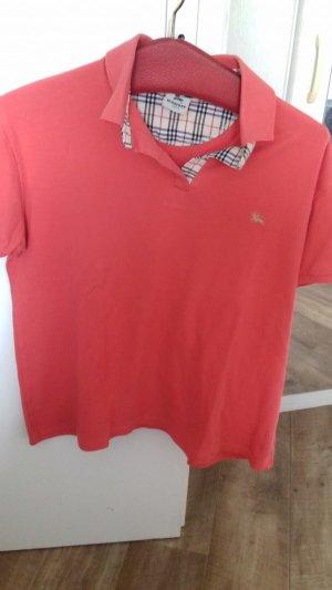 Burberry Camiseta tipo polo naranja