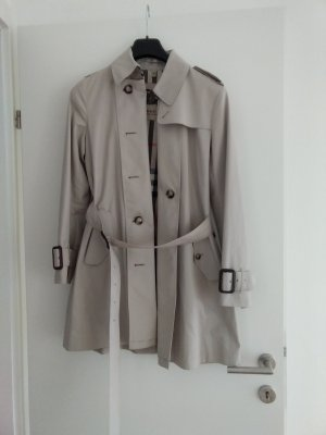 Burberry London Trenchcoat zandig bruin Katoen