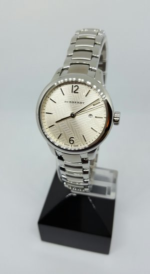 Burberry Analog Watch silver-colored stainless steel