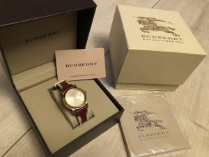 Burberry Watch carmine-gold-colored