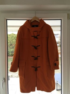 Burberry Duffle-coat orange laine