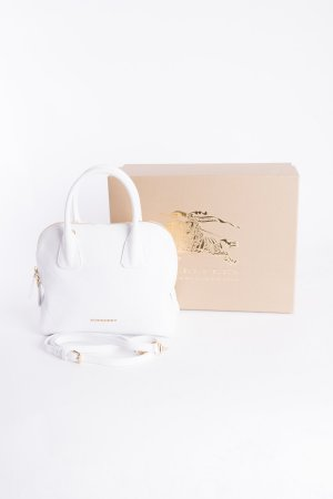 Burberry Handbag white-gold-colored leather