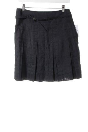 Burberry Faltenrock schwarz Karomuster klassischer Stil