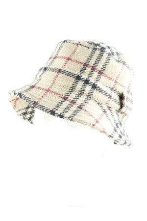 Burberry Cappello da pescatore Pied de poule stile stravagante
