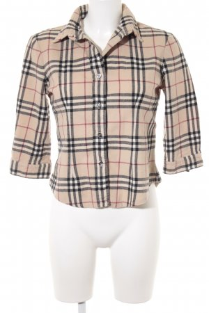 Burberry Flanellhemd Karomuster Casual-Look