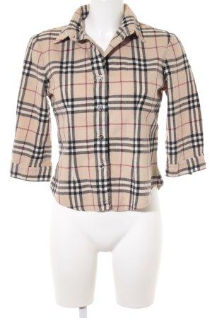 Burberry Flanellen hemd geruite print casual uitstraling
