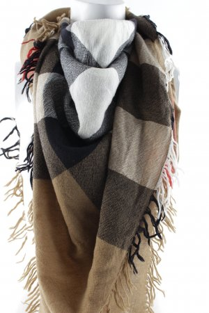 "Burberry Fransenschal ""Giant Cashmere Scarf Smoked Trench Check"""