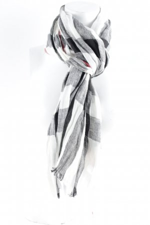 Burberry Fringed Scarf check pattern Brit look