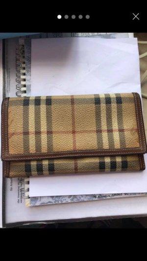 Burberry Wallet beige-dark brown
