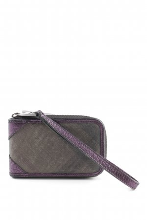 Burberry Wallet lilac-light grey casual look