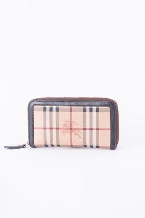 BURBERRY - Geldtasche aus Haymarket Check Gewebe