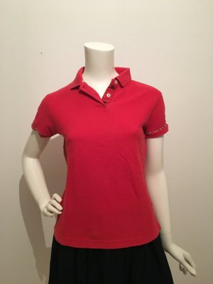 Burberry Polo Shirt red