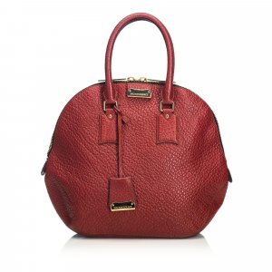 Burberry Grained Leather Orchard Handbag