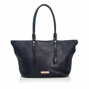 Burberry Grained Leather Salisbury Tote