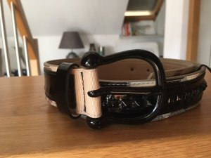 Burberry Leather Belt black