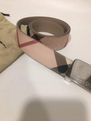 Burberry Leather Belt beige