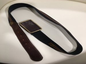 Burberry Leather Belt multicolored