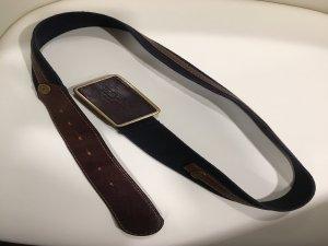 Burberry Cinturón de cuero multicolor