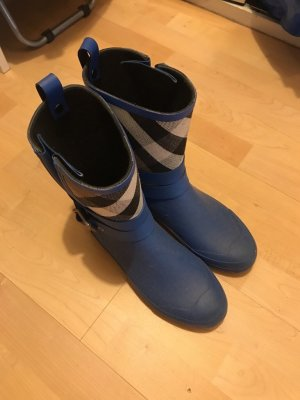 Burberry Wellington laarzen blauw