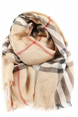Burberry Neckerchief nude allover print casual look