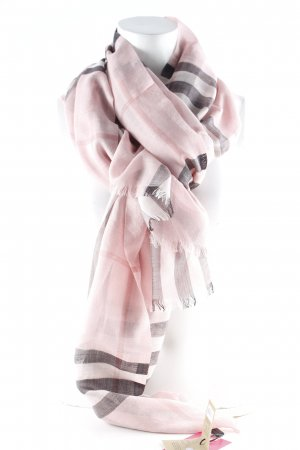"Burberry Fazzoletto da collo ""Gauze Giant Check Scarf Rose"""