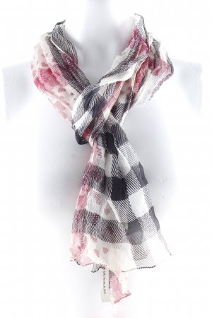 Burberry Neckerchief check pattern casual look