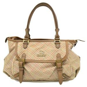 Burberry Handbag brown textile fiber