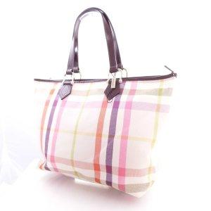 Burberry Handtasche Creme Multicolor, Neu ohne Etikett