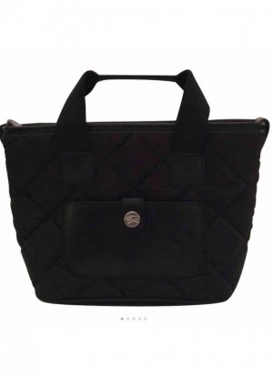 Burberry Carry Bag black mixture fibre