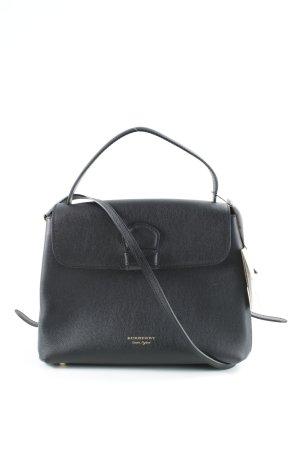 Burberry Handtasche schwarz Karomuster Elegant