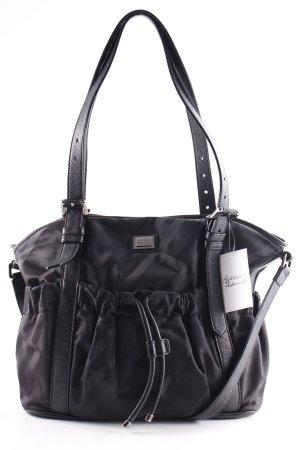 Burberry Handtasche schwarz Karomuster klassischer Stil