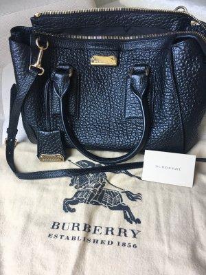 Burberry Handtas zwart-goud Leer