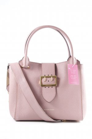 "Burberry Handtasche ""The Buckle Medium Tote Bag Calfskin Dusty Pink"" altrosa"