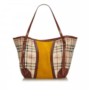 Burberry Haymarket Check Canterbury Shoulder Bag