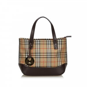 Burberry Haymarket Check Handbag