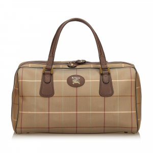 Burberry Haymarket Check Jacquard Travel Bag