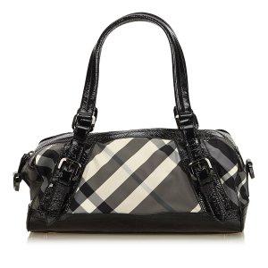 Burberry Haymarket Check Nylon Shoulder Bag