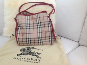 Burberry Carry Bag red