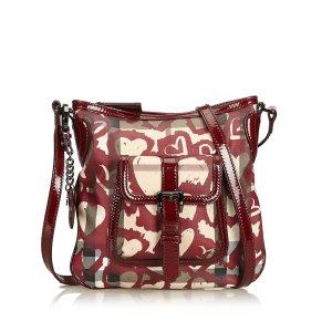 Burberry Heart Nova Check Shoulder Bag