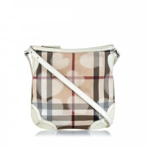 Burberry Hearts Supernova Coated Canvas Crossbody bag