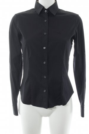 Burberry Hemd-Bluse schwarz Business-Look