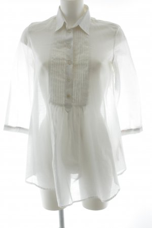 Burberry Blusa-camisa blanco look casual