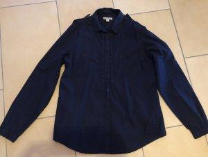 Burberry Chemise à manches longues bleu foncé